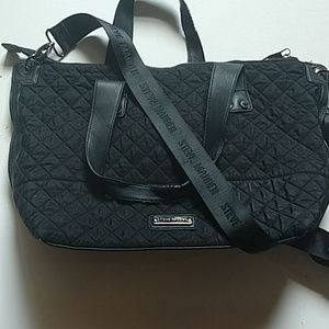 Steve Madden- Quilted Black purse